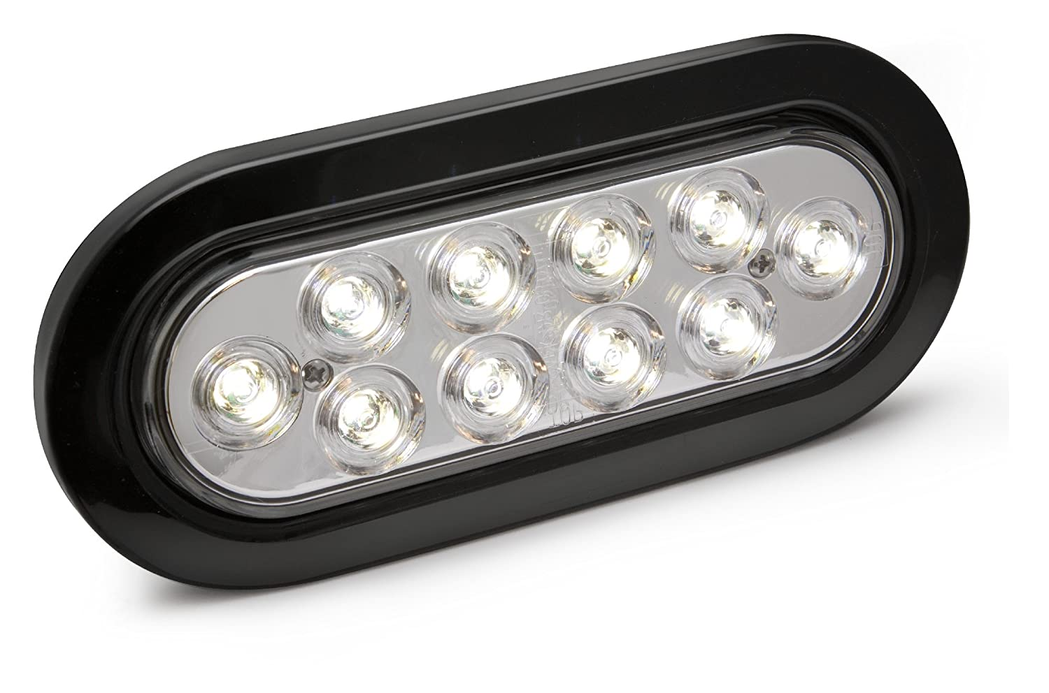 Reese Towpower 86078 Clear 6 LED Back-Up Light Kit White SeaLED Oval