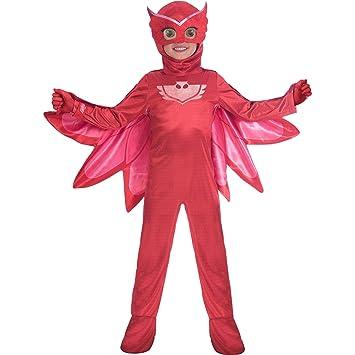 Amscan Childrens Size Deluxe PJ Masks Disfraz de Owlette Small 3-4 years