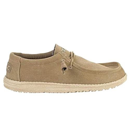 Dude Wally Classic - Mocasines Hombre Beige Talla 40