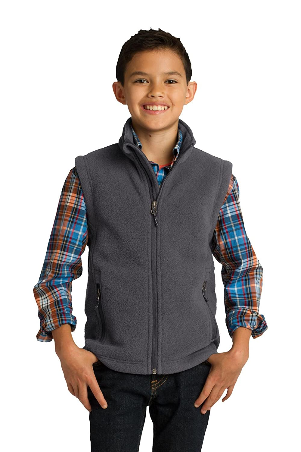 Port Authority Big boys' Youth Value Fleece Vest