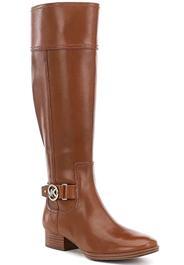 aa53f57aa Amazon.com | Michael Kors Harland Riding Boot Luggage Women's Size 8 ...