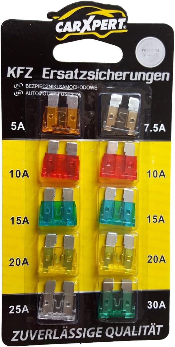 Flachicherungen Standard Kfz Stecksicherungen 5 30 Ampere Auto