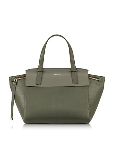 Furla Designer Handbags Dolce Vita Sage Green Leather Tote  Amazon.co.uk   Shoes   Bags ef1ef7128cc70