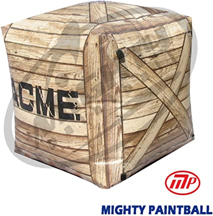 Amazon.com: MP Crate forma Bunker de aire inflable: Sports ...