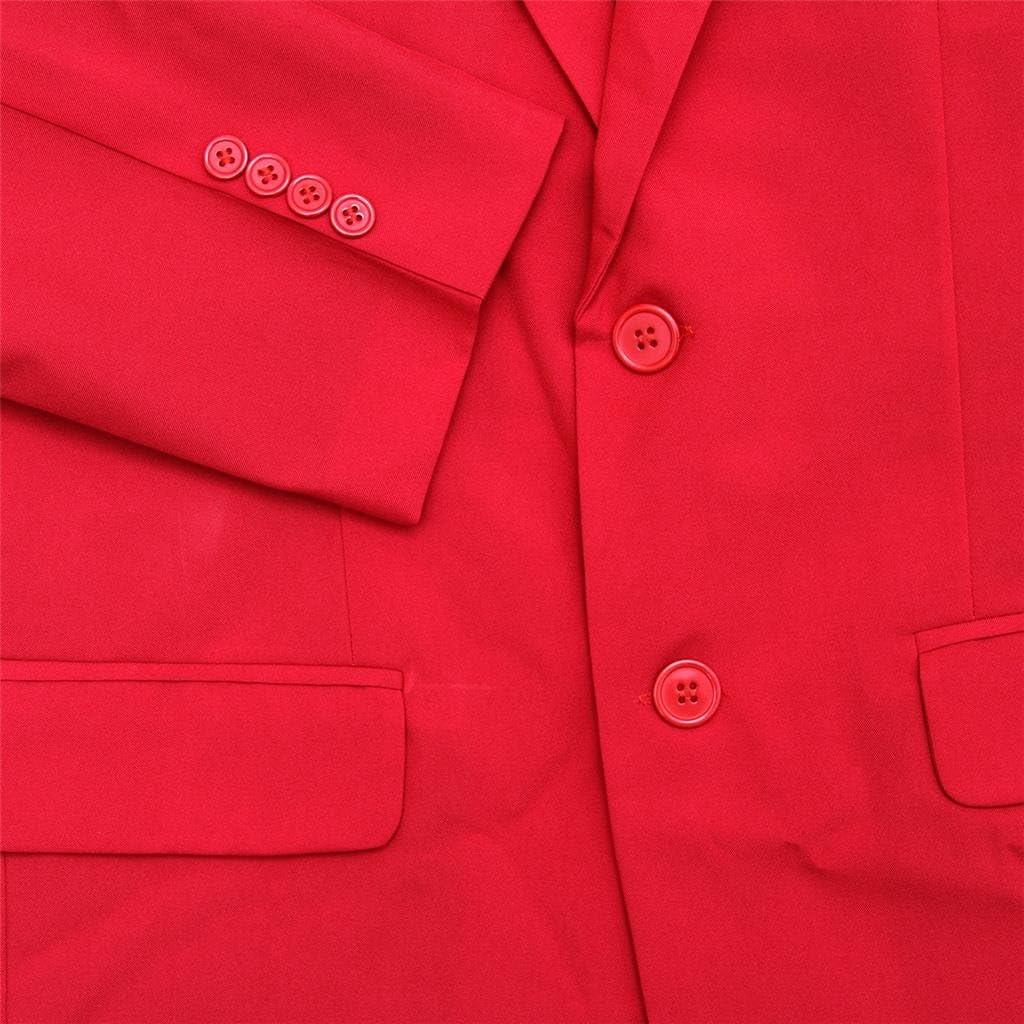 U LOOK UGLY TODAY Herren fest Party Anzug Farbe Freizeit-Klage f/ür Feiertags-Party-Jacke mit Krawatte und Hose Medium Orange