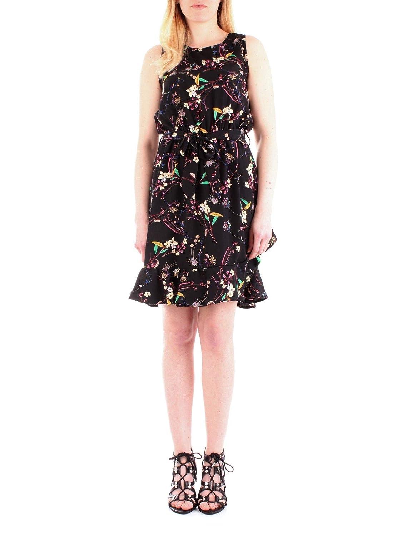Fly Girl Women's 973101black Black Viscose Dress