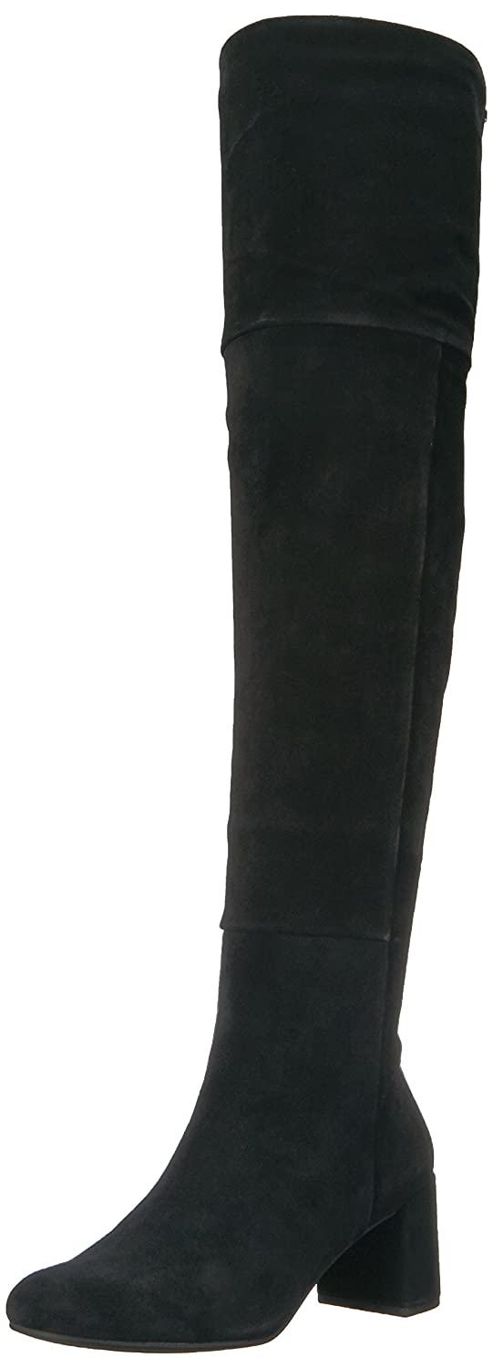 Taryn Rose Women's Catherine Lux Suede Fashion Boot B071GDS8S4 8 M Medium US|Black/Black