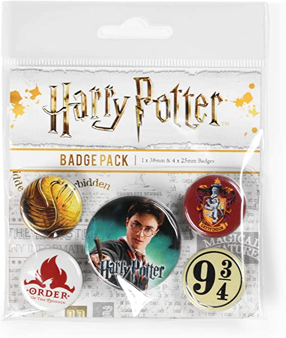Pyramid International, Harry Potter Gryffindor Paquete Medalla ...