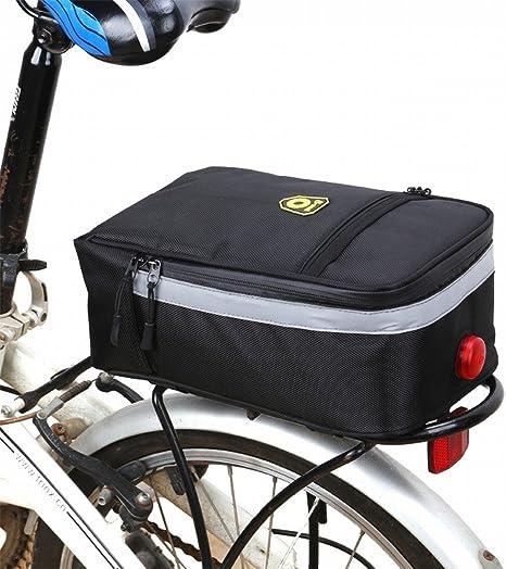 Bolsa para bicicleta de Huayang, ideal para el sillín trasero de ...