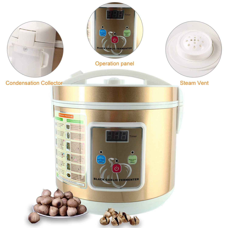 Homend 5L Black Garlic Automatic Fermenter, Black Garlic Ferment Box, Garlic Maker Recycle, Intelligent Fermentation Machine, Health Food Maker, Home/Kitchen Utensil by Homend (Image #4)