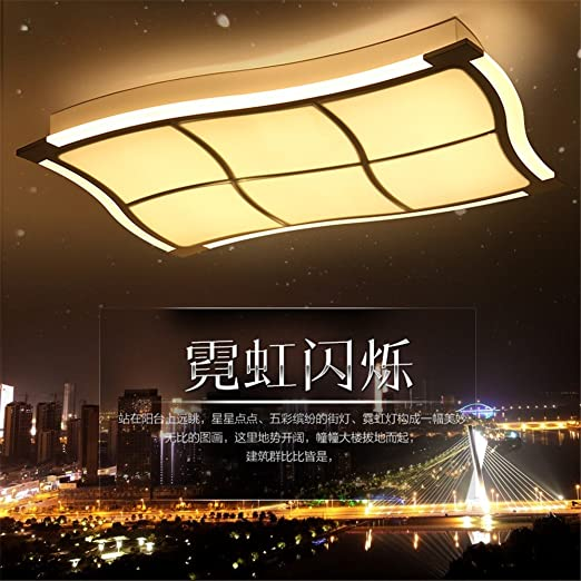 WTOR_Light Ceiling Lights With Side Led Strip Bedroom Lamps Acrylic ...