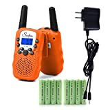 Amazon Price History for:Swiftion Rechargeable Kids Walkie Talkies 22 Channel 0.5W FRS/GMRS 2 Way Radios with Charger and Rechargeable Batteries (Bright Orange, Pack of 2)