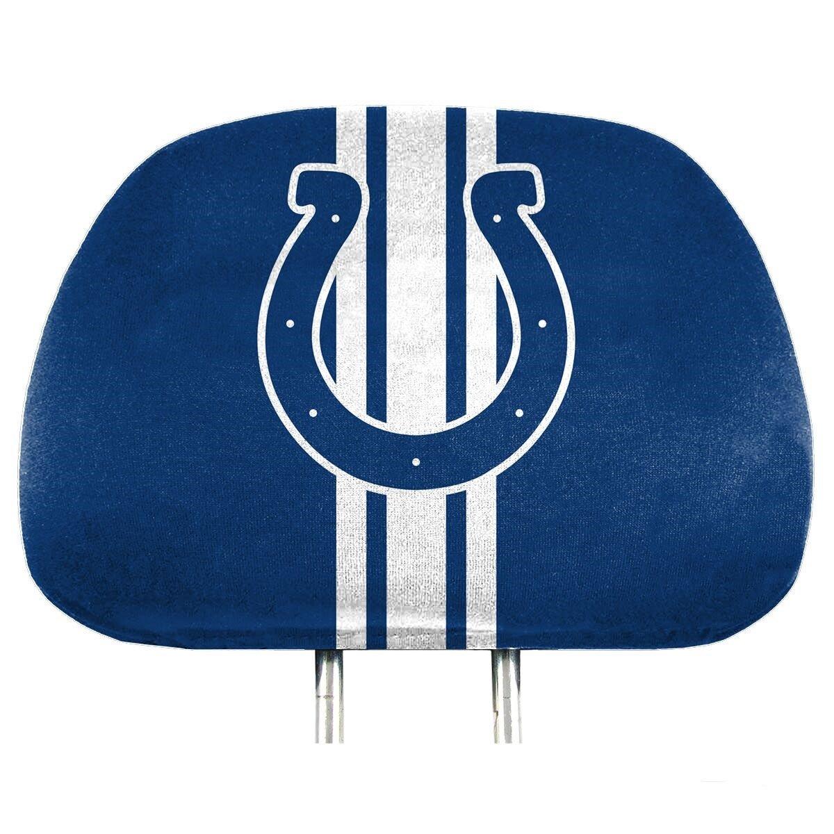 NFL Full-Print Head Rest Covers 2-Pack