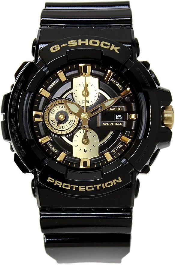 CASIO カシオ G-SHOCK Gショック Garish Gold Series ガリッシュゴールドシリーズ GAC-100BR-1A メンズ 腕時計 【並行輸入品】