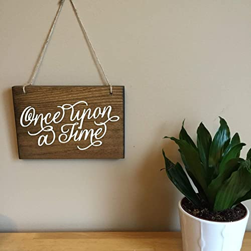 Amazon Com Once Upon A Time Sign Storybrooke Once Princess Decor