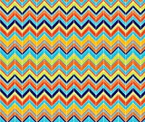Chevron Fabric Surfs Up Chevy by Laine And Leo Printed on Satin Fabric by the Yard by Spoonflower