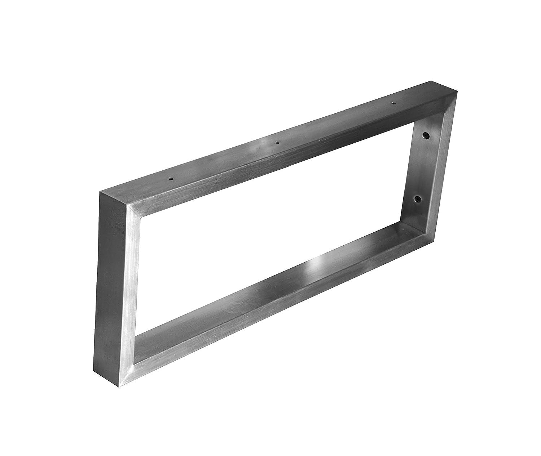 con gran espacio de ahorro//Plata // 300mm RNL Soporte de estante de acero inoxidable soporte de partici/ón flotante de estante de pared soporte de tri/ángulo de lavabo