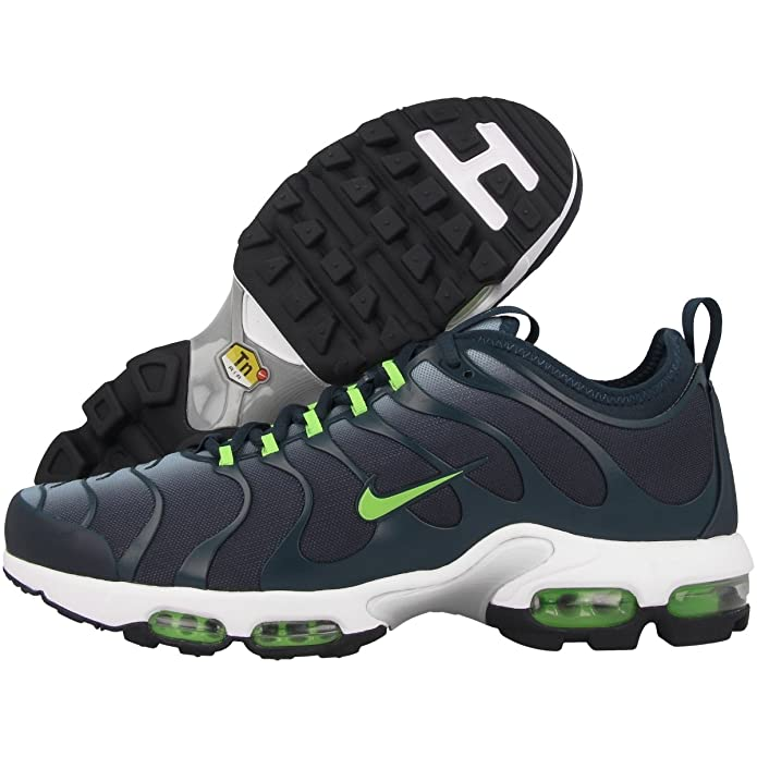 ebac04e17e Nike Schuhe Air Max Plus Tn Ultra Herren blue grey-armoury navy-white-electric  green (898015-400), 42,5, blau: Amazon.de: Schuhe & Handtaschen