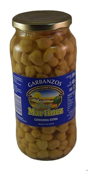 Ginés Martínez Garbanzos Cocidos - 400 gr