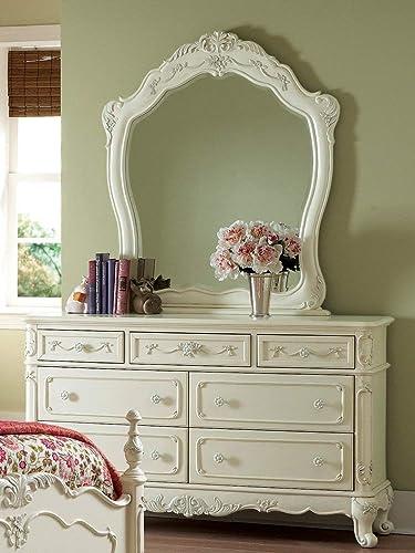 Homelegance Cinderella Double Dresser and Mirror Set