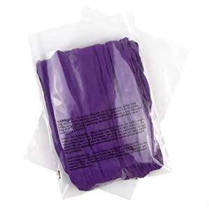 Poly Bags with Suffocation Warning 8x10 - Resealable - 200 Pack - Clear Poly Bags 8x10 - Self Seal Poly Bags 8x10 - Packaging Bags - Retail Supply Co