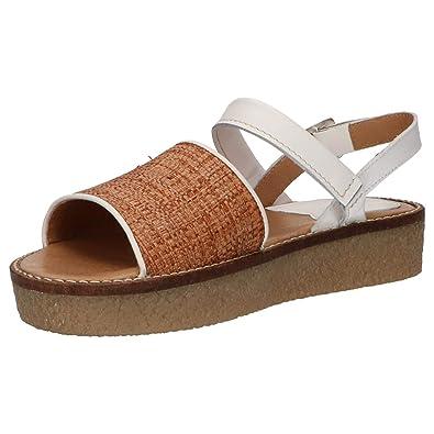 Kickers Victoriette Marron Rafia 6938115093, Sandals: Amazon