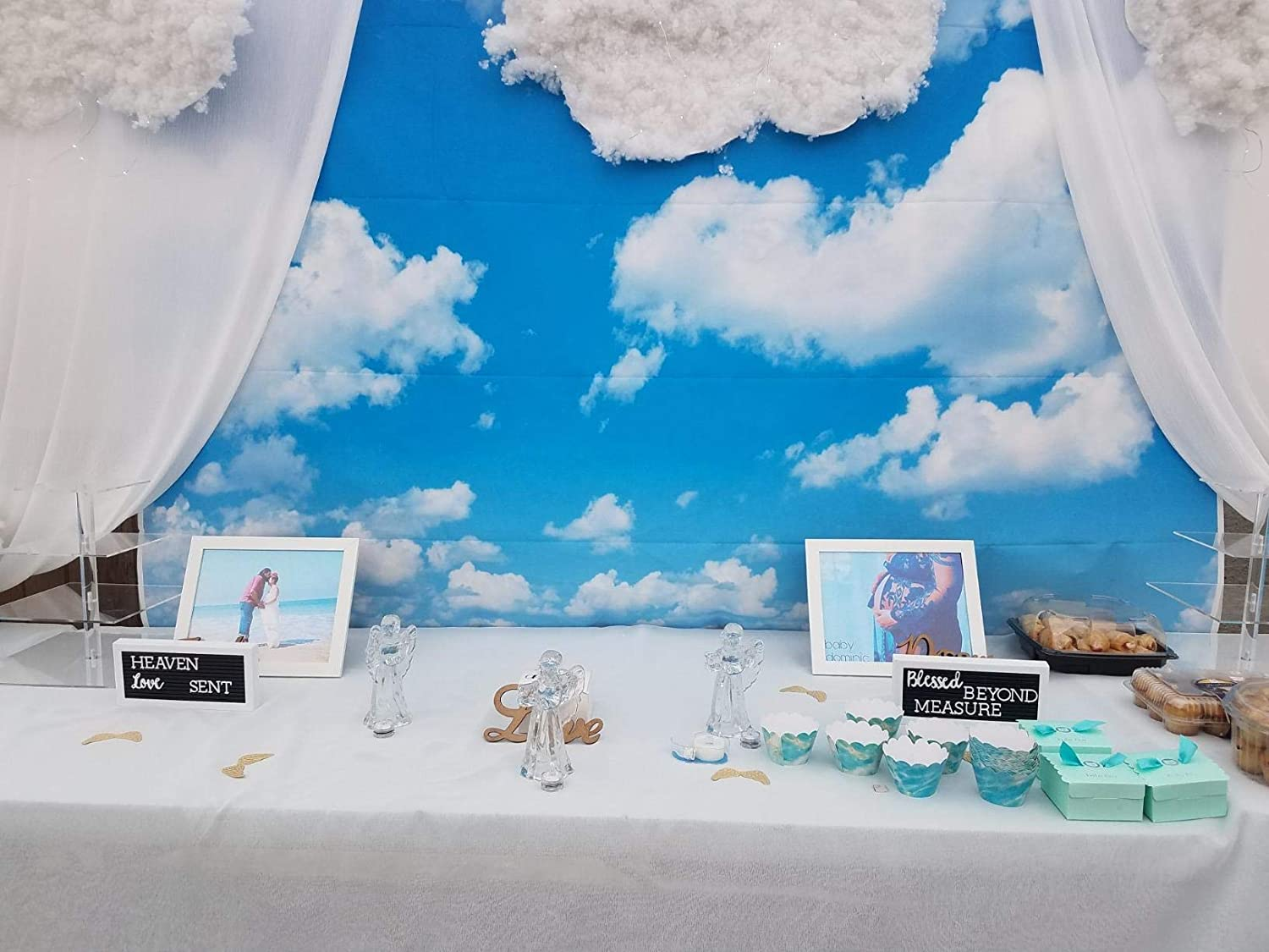 HD 7x5ft Expressway Backdrop Blue Sky Photography Background Themed Party Photo Booth Facebook YouTube Backdrop GYMT365