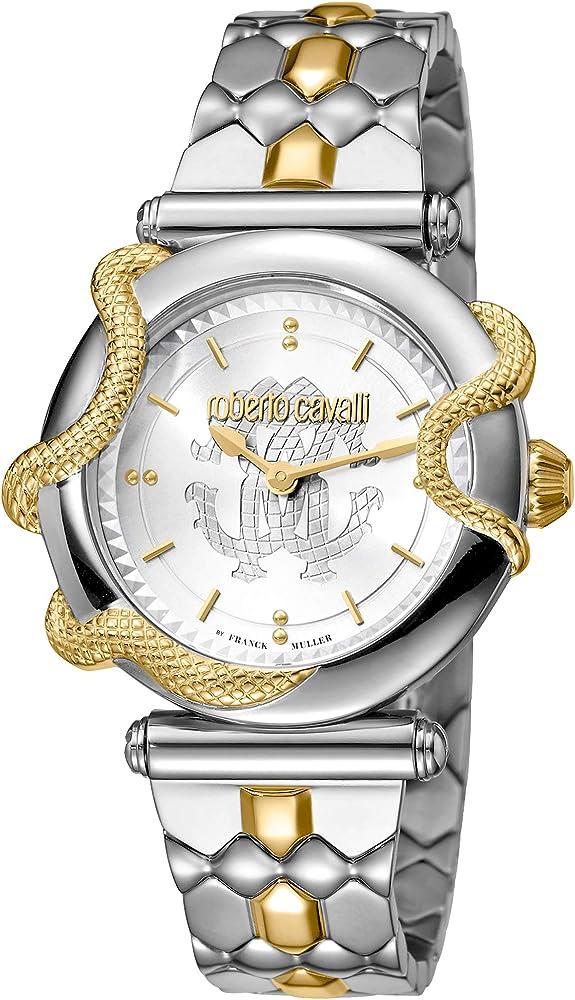 Roberto Cavalli by Franck Muller Reloj de Vestir RV1L058M0091 ...