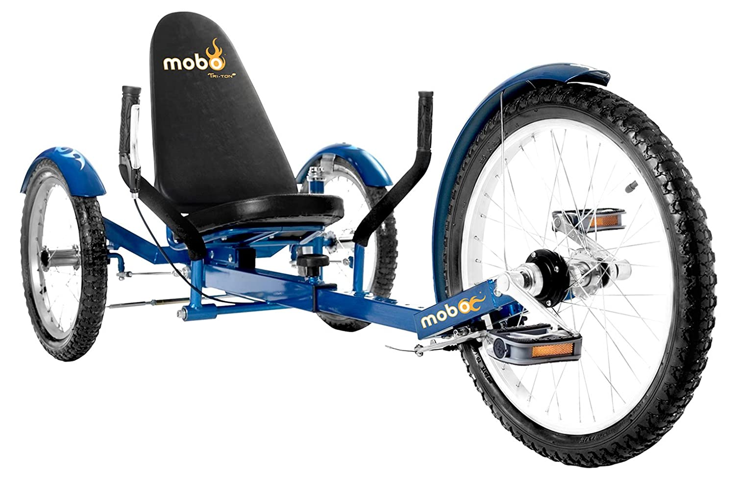Associated product image for Mobo Tri-501BL Triton Pro Ultimate Three Wheeled Cruiser (20-Inch)