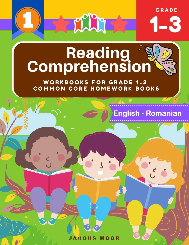 - Reading Comprehension Workbooks For Grade 1-3 Common Core Homework