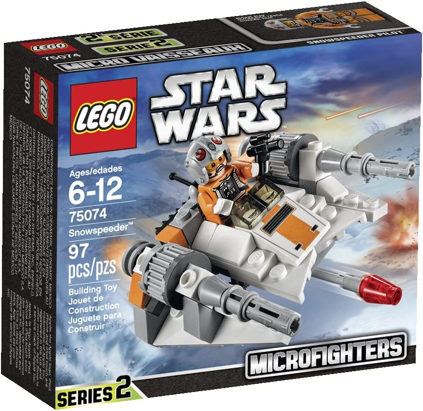 LEGO, Star Wars, Microfighters Series 2, Snow Speeder (75074)