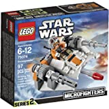 LEGO Star Wars 75074 Microfighters Series 2 Snowspeeder, 97-Piece