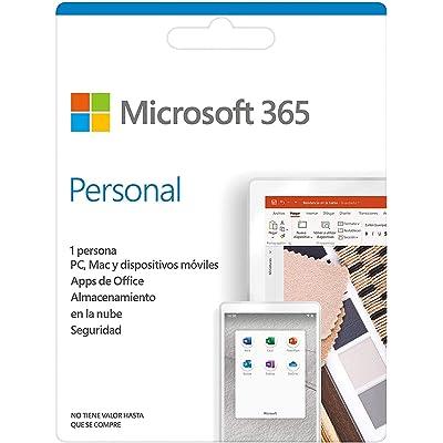 Microsoft 365 Personal   Suscripción anual o mensual   Para 1 PC o Mac, 1 tableta incluyendo iPad, Android, o Windows, además de 1 teléfono