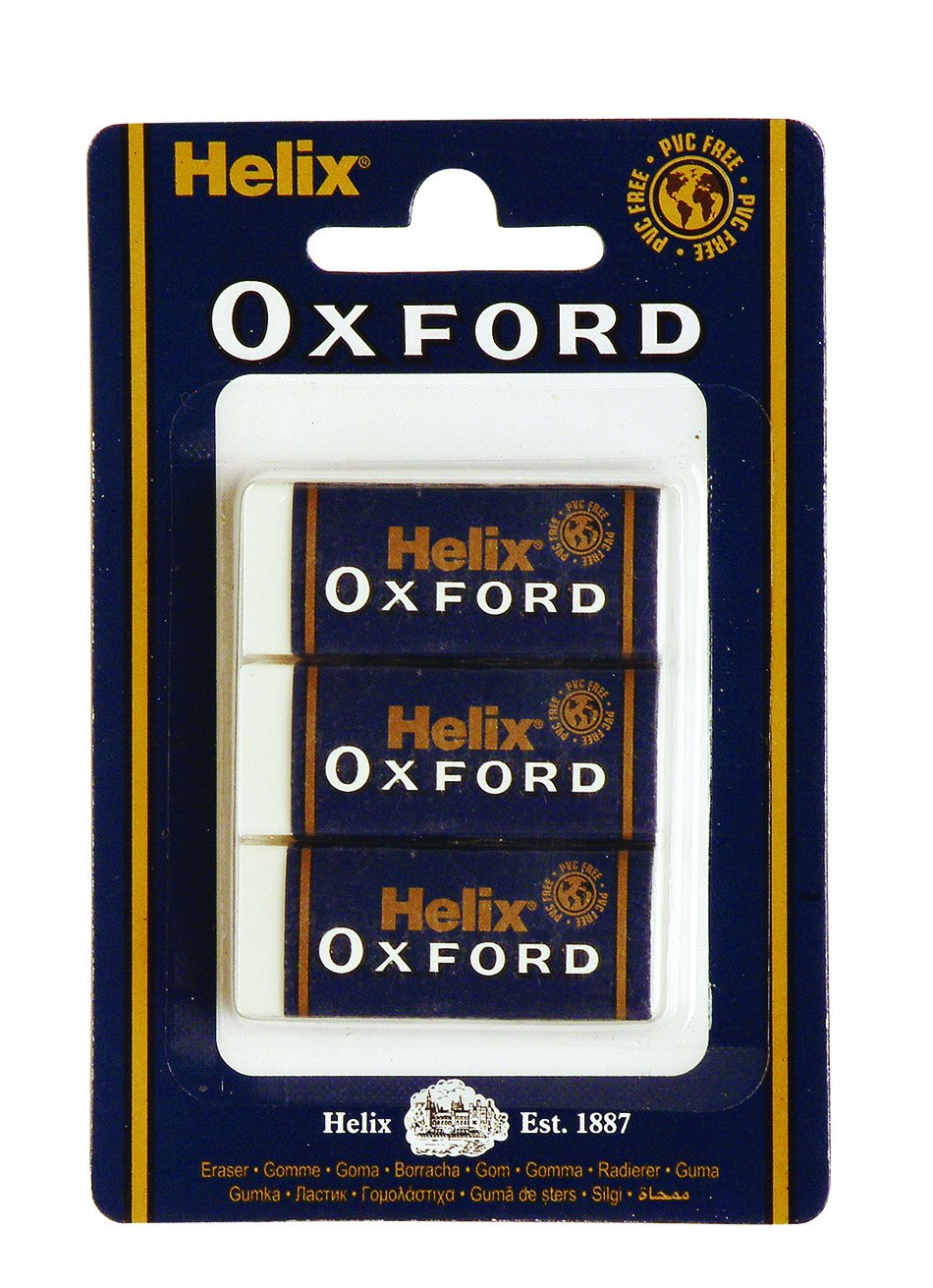 Helix Oxford Large Sleeve Erasers (Box of 20) YS2020