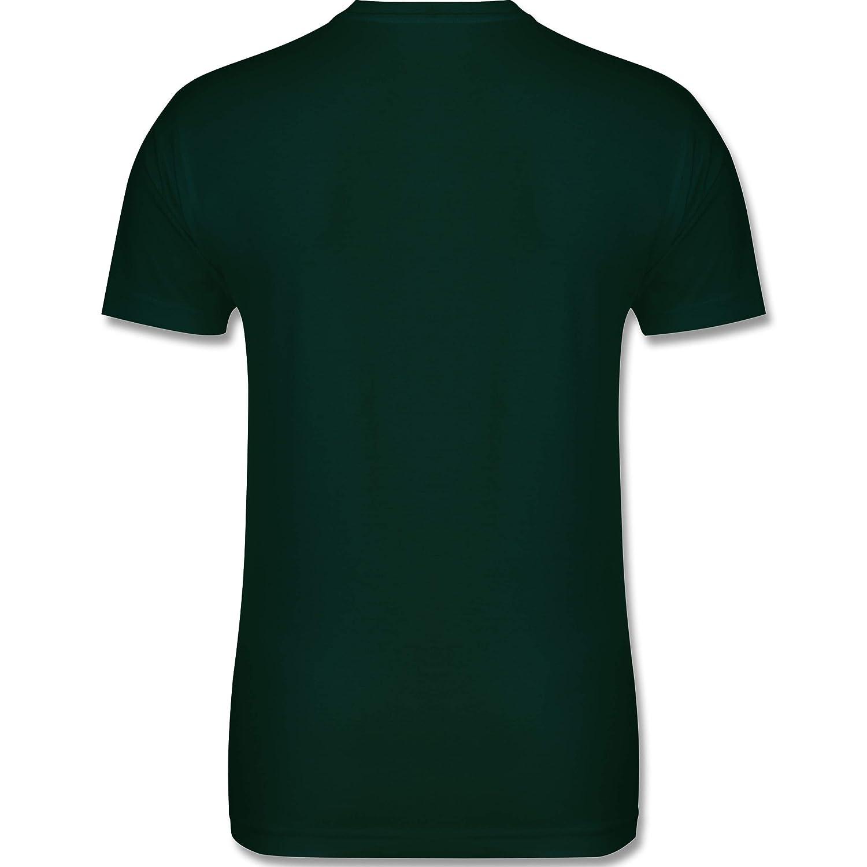 Herren T-Shirt und M/änner Tshirt Oktoberfest Herren Hirsch Bayern