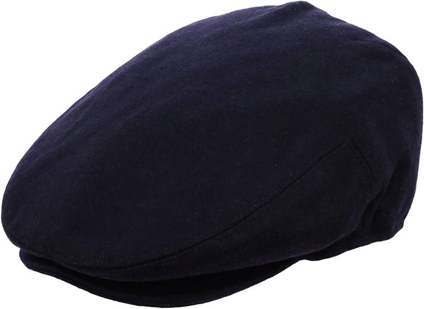 EPOCH Hats Mens Premium Wool Blend Classic Flat Ivy Newsboy Collection Hat