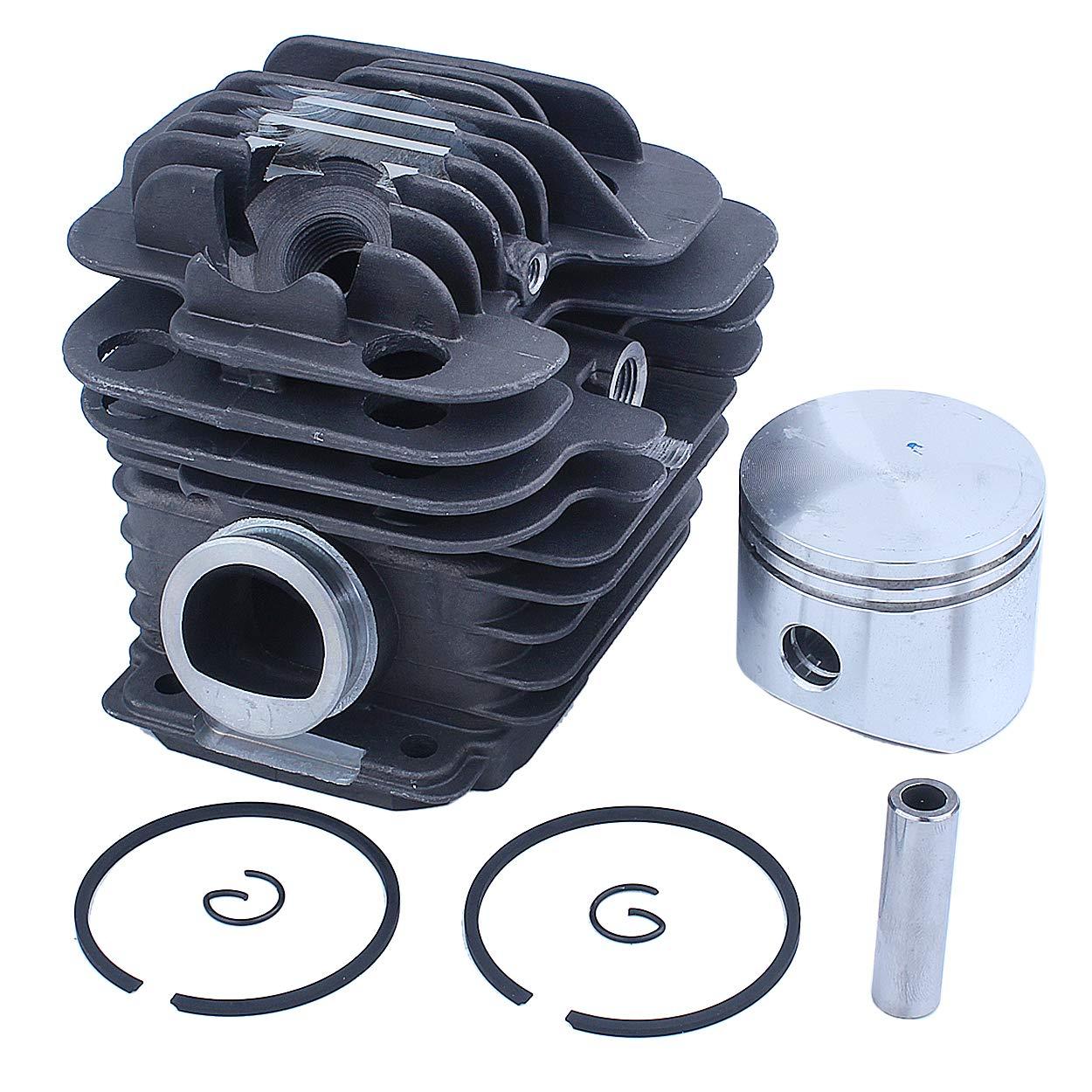 Mtanlo Kit de pistón de cilindro de 45 mm para Oleo-Mac 952 Master Efco 152 PN 50082012E 50082012 50070047a 50082012B