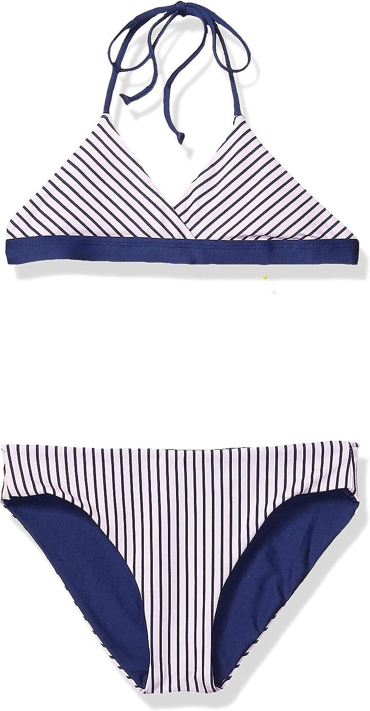 Splendid Girls Big Reversible Top /& Retro Bikini Bottom Swimsuit Set