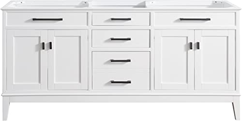Avanity Madison 72 in. Double Sink Vanity Only