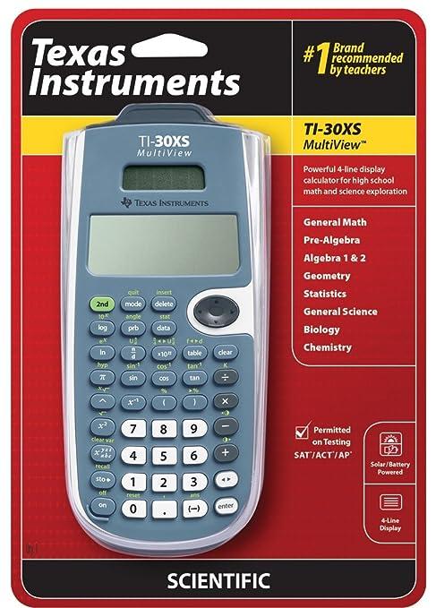 Amazon.com: Texas Instruments TI-30XS MultiView Scientific ...
