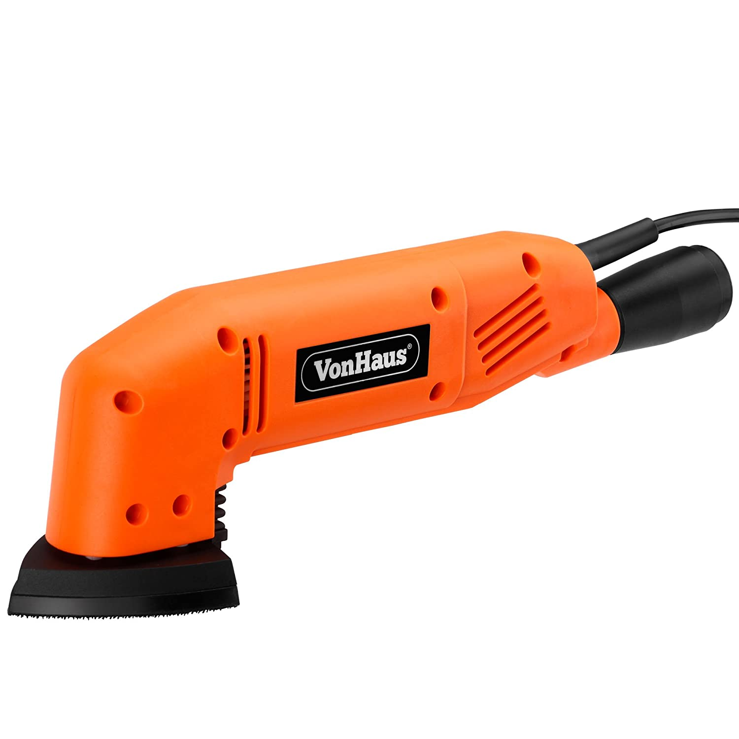 vonhaus w mm triangle detail sander with  sanding sheets amp dust extraction: decor uk accslx x