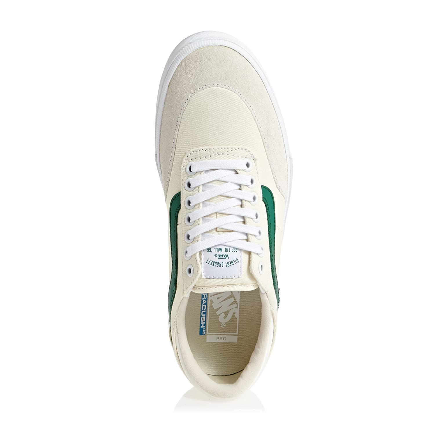 Vans Gilbert Crockett 2 Pro Center Court Classic White Evergreen Skate Shoes   Amazon.co.uk  Shoes   Bags 88cecf8c9