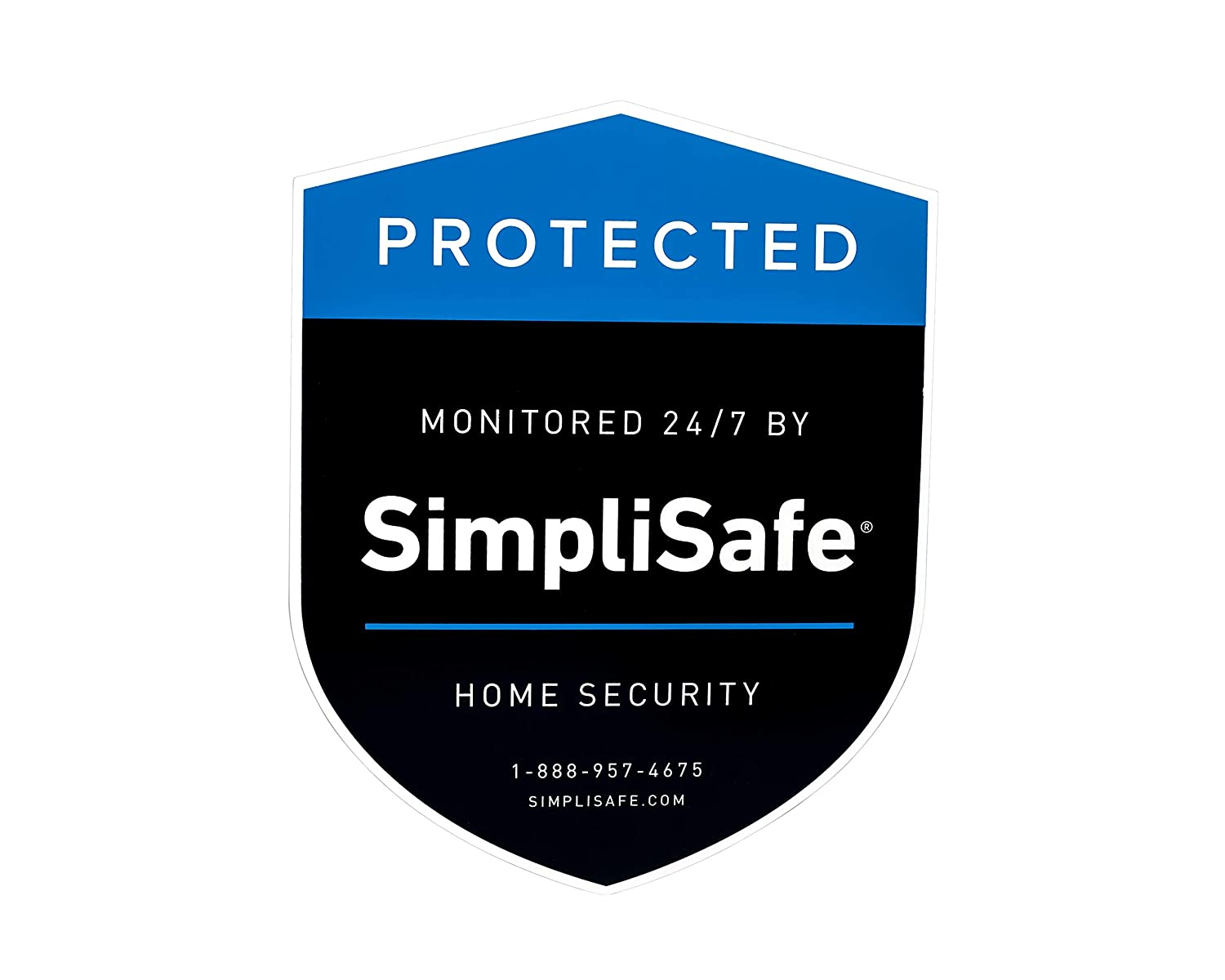 Summitlink Yard Sign Shield For Simplisafe Home Security
