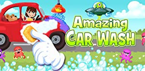 Amazing Car Wash - The funny cars washing game for kids
