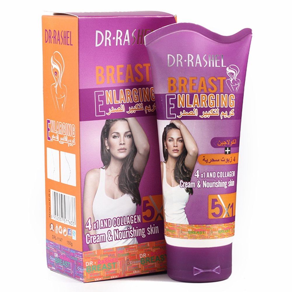 RASHEL Breast Enlargement Cream Bust Enhance Gel Chest Massage Lotion Honey  Yeast Collagen 150 g : Beauty