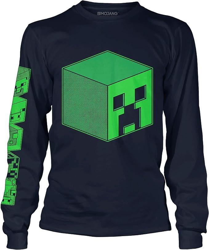 Minecraft t-shirts long sleeve t-shirts cotton top