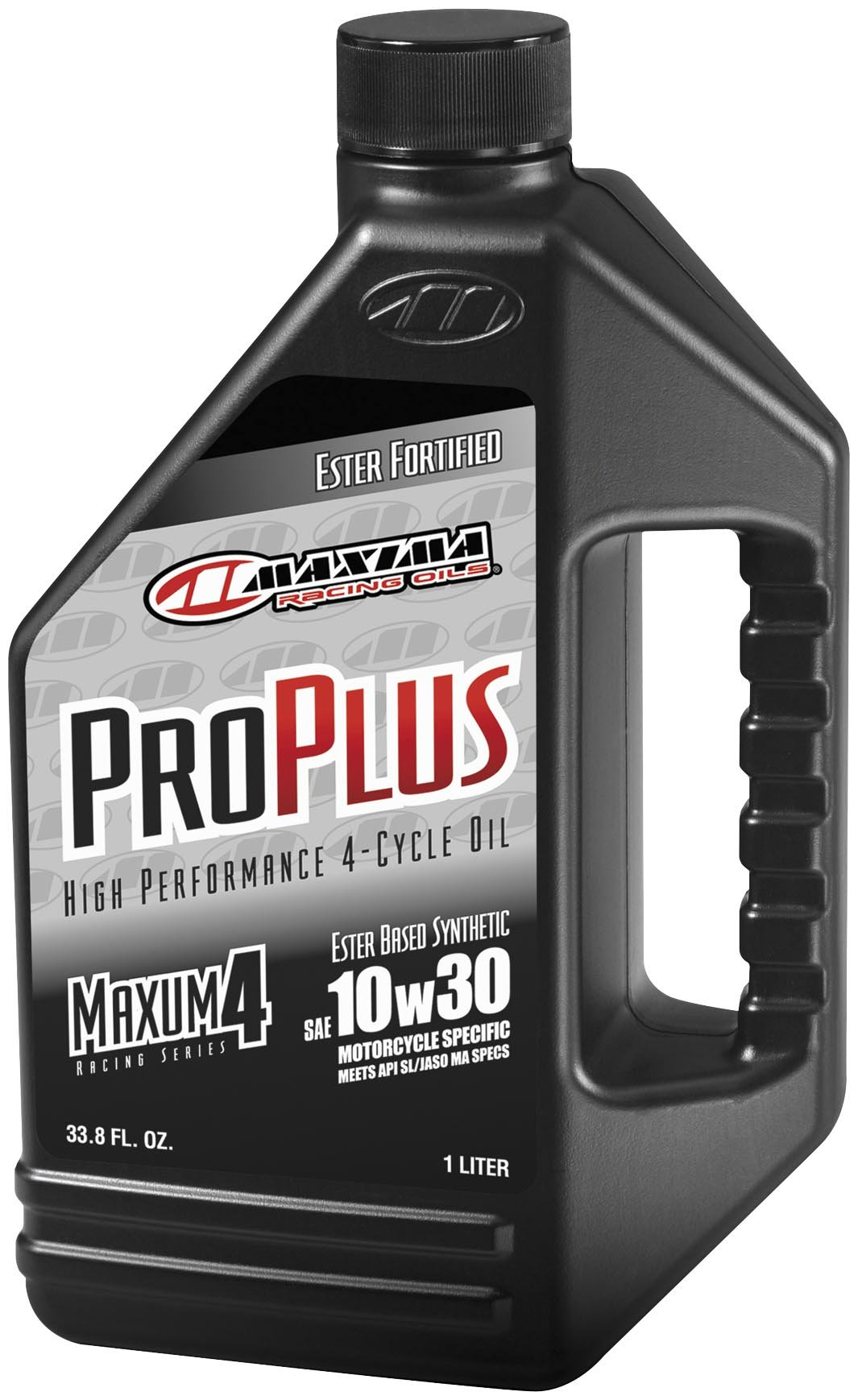 Maxima (30-03505) Pro Plus+ 20W-50 Synthetic Motorcycle Engine Oil - 5 Gallon Pail by Maxima