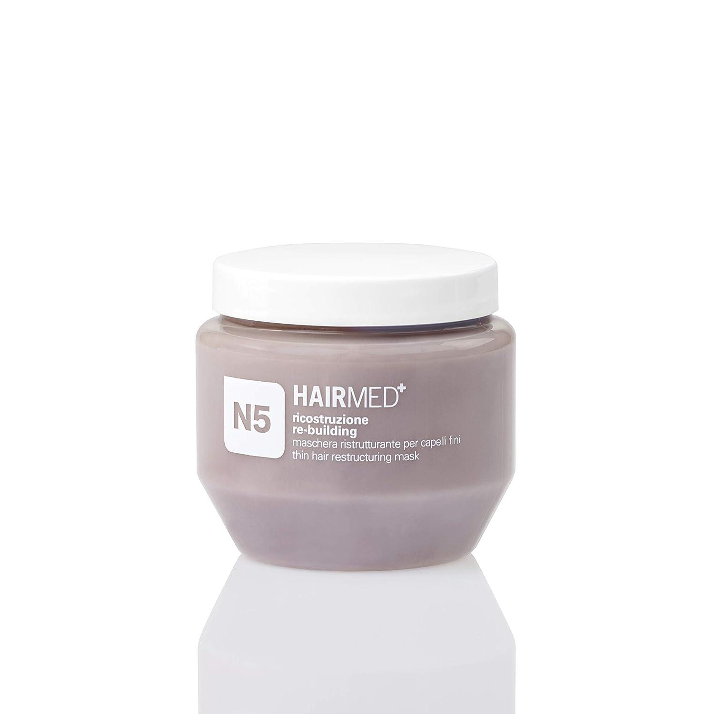 HAIRMED - Maschera professionale per capelli (MascheraRicostruzione Capelli Fini N5, 1000 ml) HAIRMED haircare innovative
