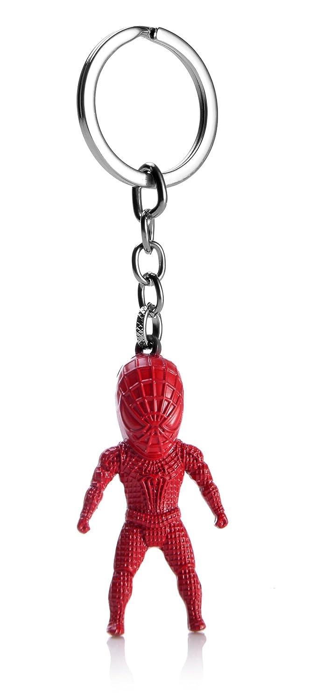 REINDEAR Unique 3D Superhero Figure Metal Pendant Keychain Bag Charm US Seller 758182508066