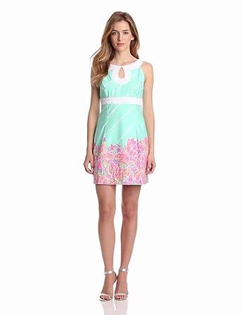 Lilly Pulitzer Women's Candice Dress, Sand Bar Blue, 00